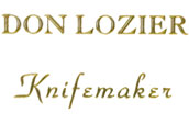Don Lozier Knives