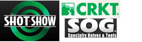 SHOT Show 2012 CRKT and SOG Information