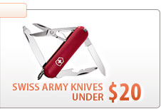 Swiss Army Knives Under $20.00